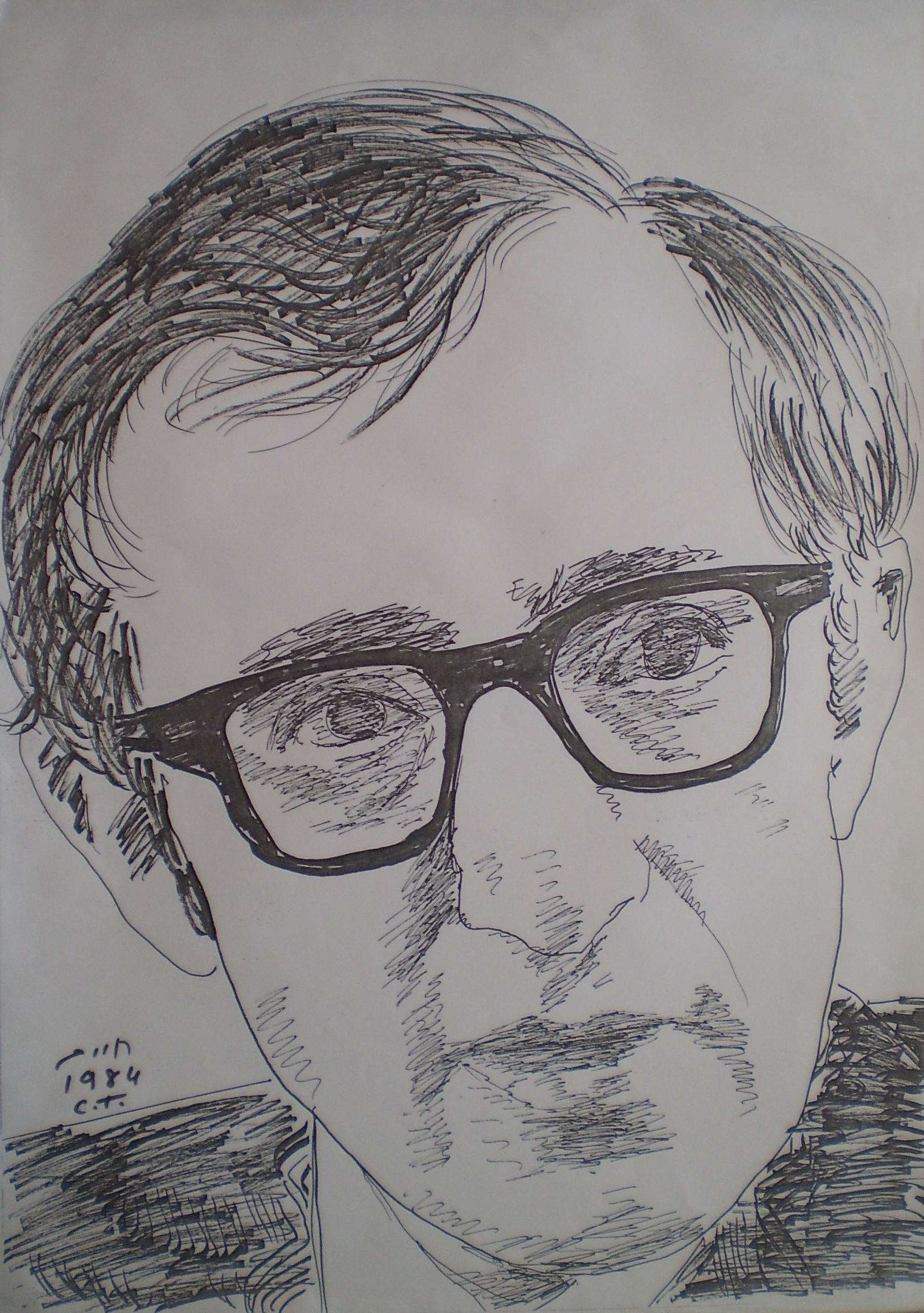 Woody Allen Drawing File:woody Allen Drawing by