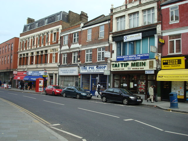 English: Woolwich New Road, London SE18