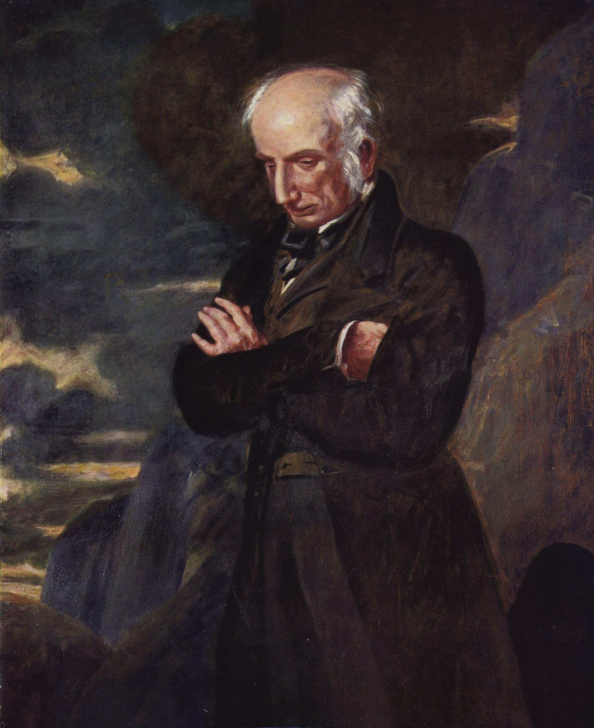 ''Portrait of William Wordsworth'' by [[Benjamin Robert Haydon]] ([[National Portrait Gallery (London)|National Portrait Gallery]]).