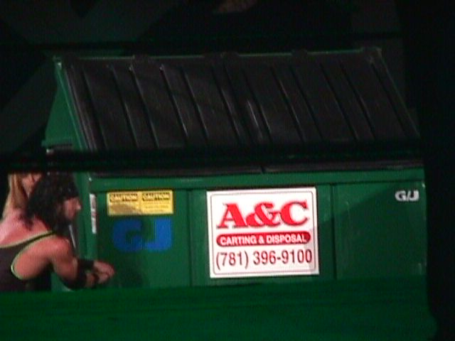 King Of The Ring  Dumpster Match