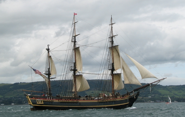 'Bounty', Tall Ships Belfast 2009 - geograph.org.uk - 1448965
