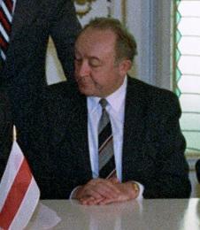 Vyacheslav Kebich 1st Prime Minister of Belarus 1991–1994