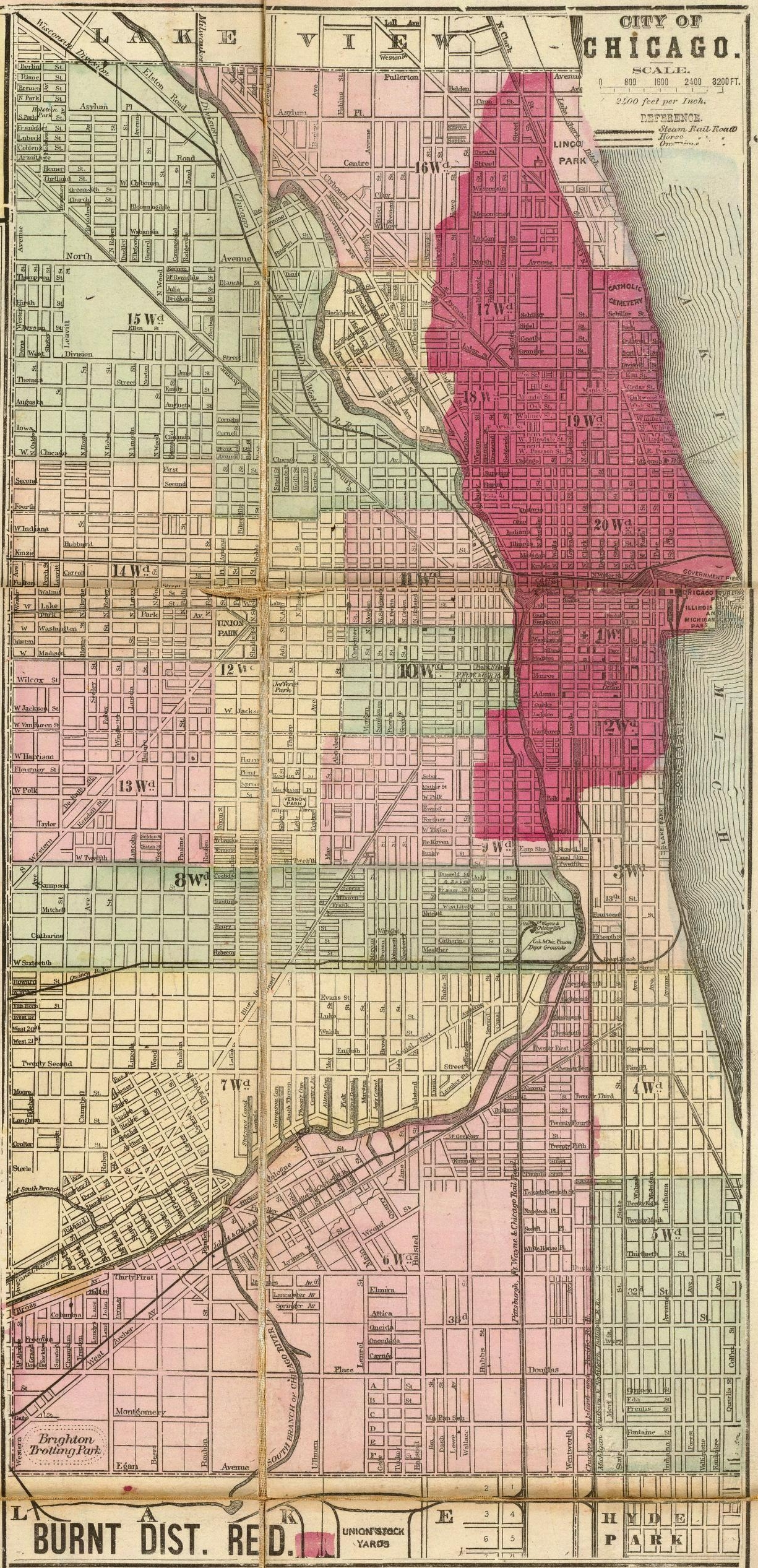 File 1871 Chicago Burnt District Map Jpg Wikimedia Commons