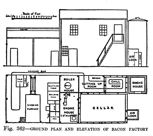 Fileth Century Knowledge Barns Ground Plan And Elevation Of - Ground elevation