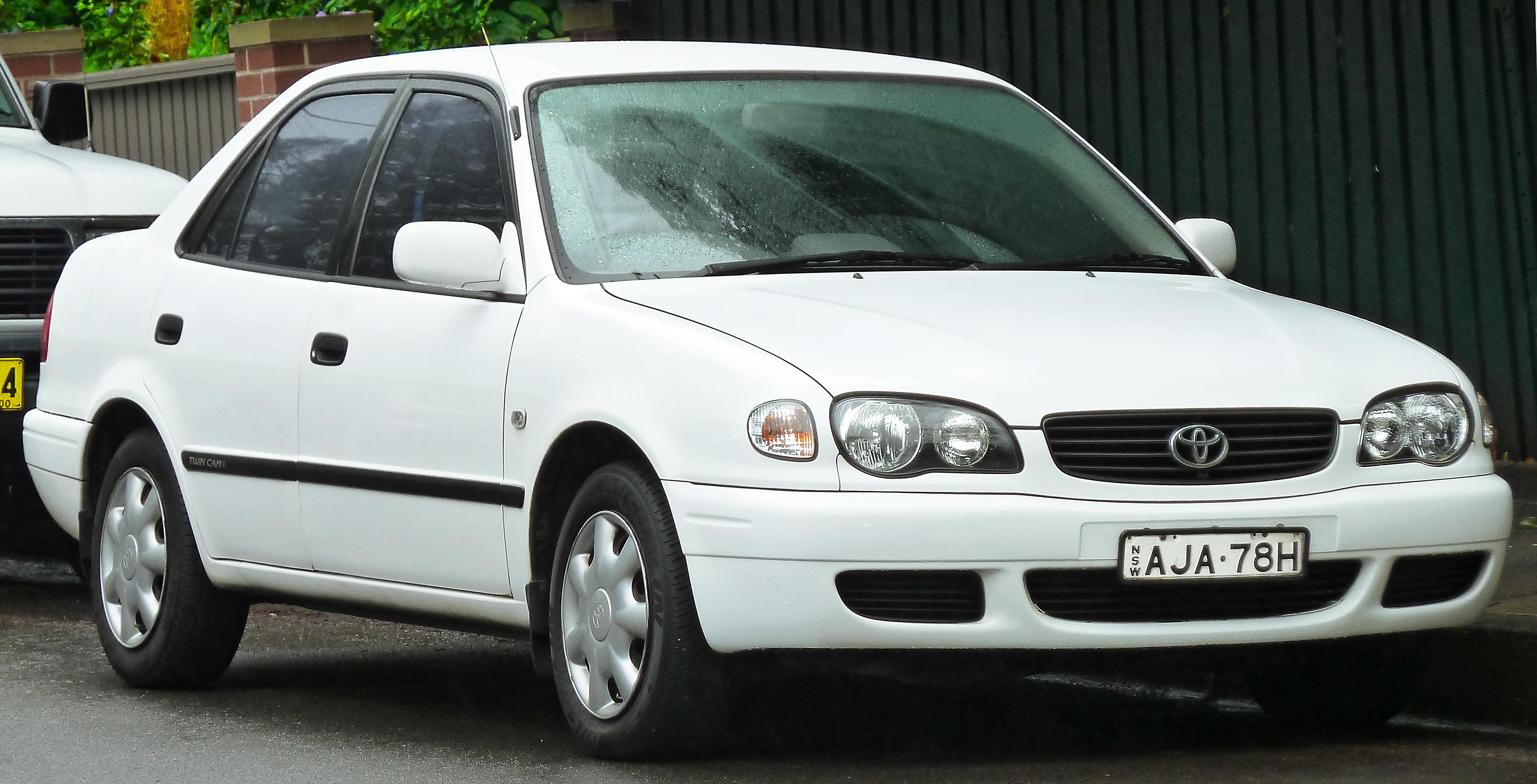 Тойота королла 2000 фото
