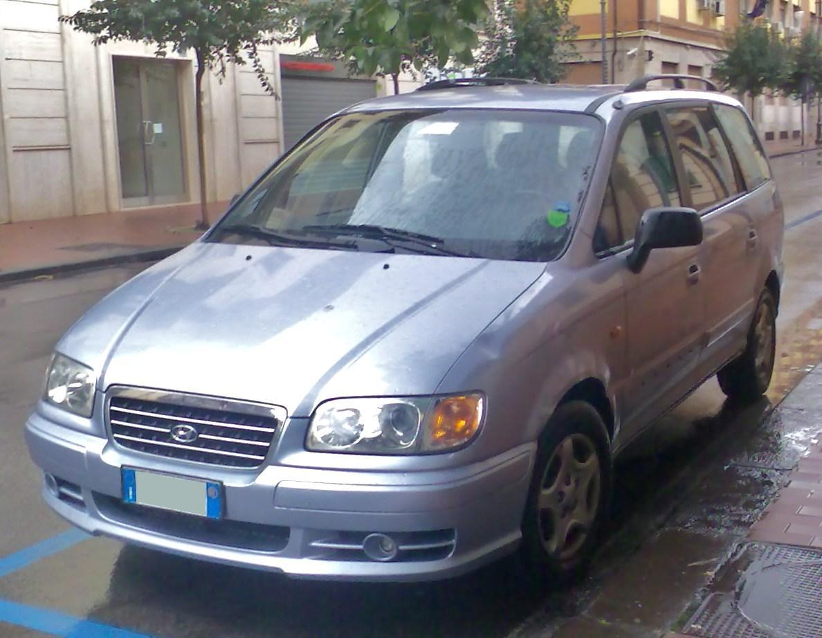 Hyundai Trajet  U2013 Wikip U00e9dia  A Enciclop U00e9dia Livre