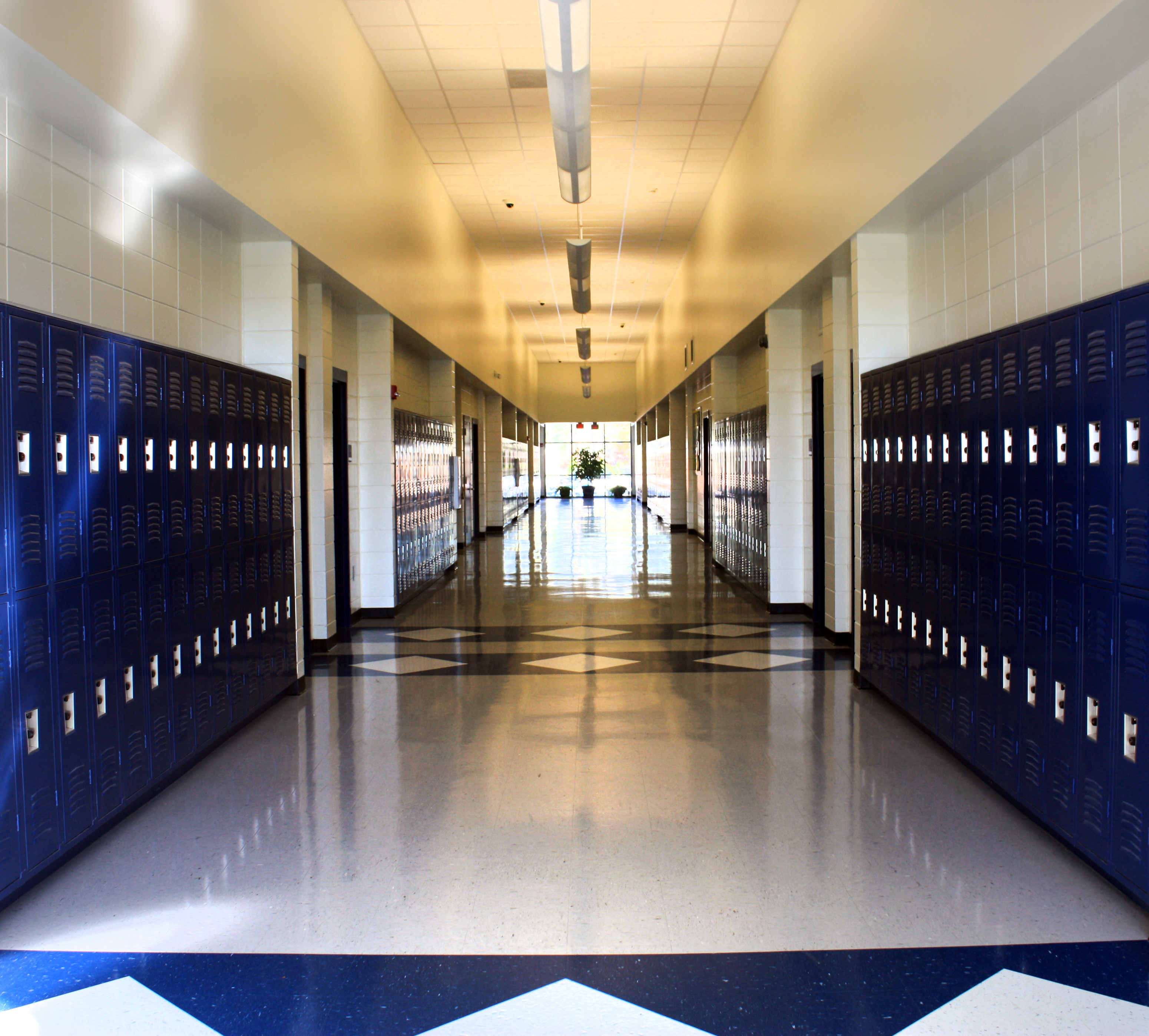 school hallway background - photo #8