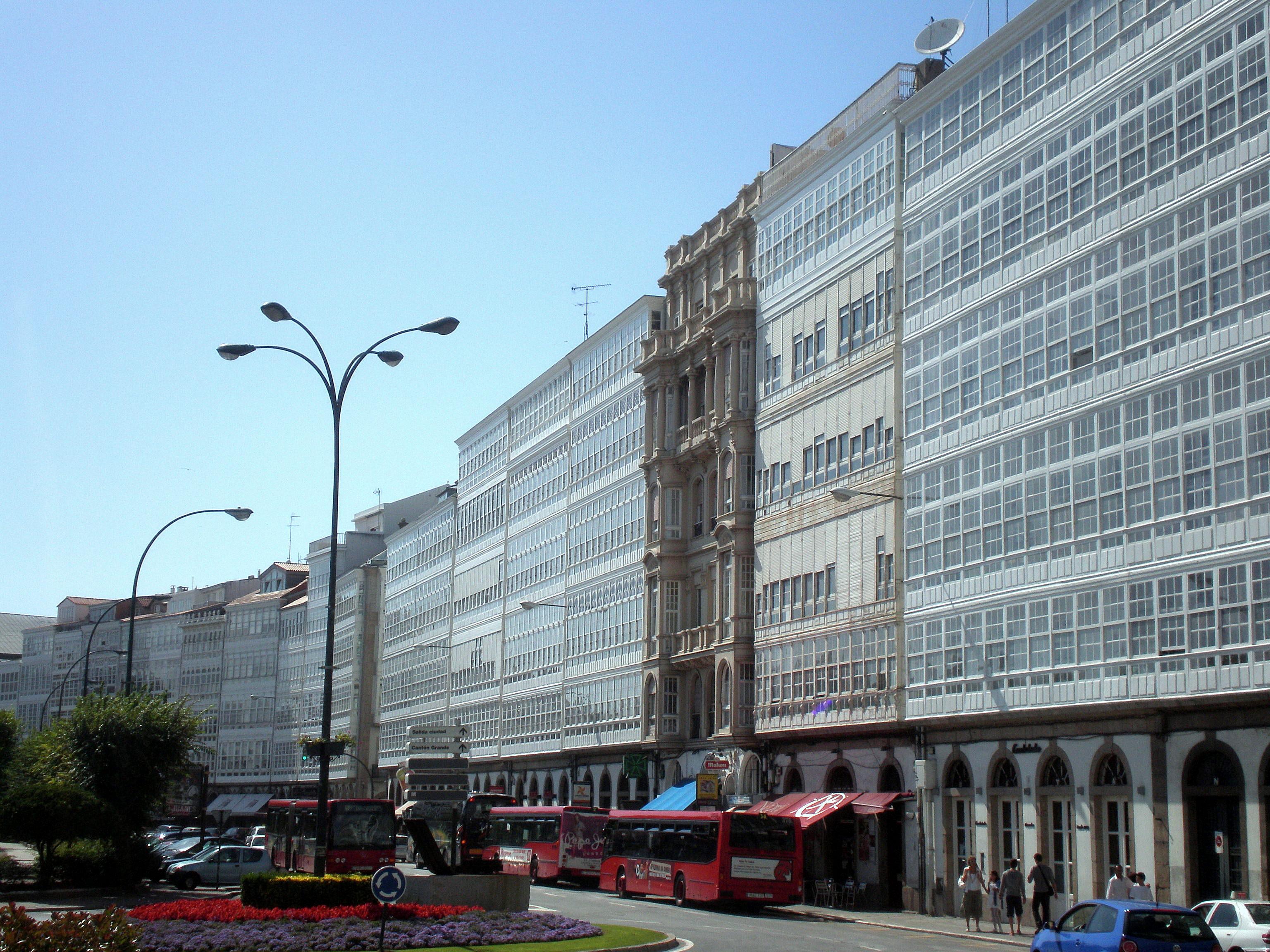 File A Coruña Avenida Da Marina Jpg Wikimedia Commons