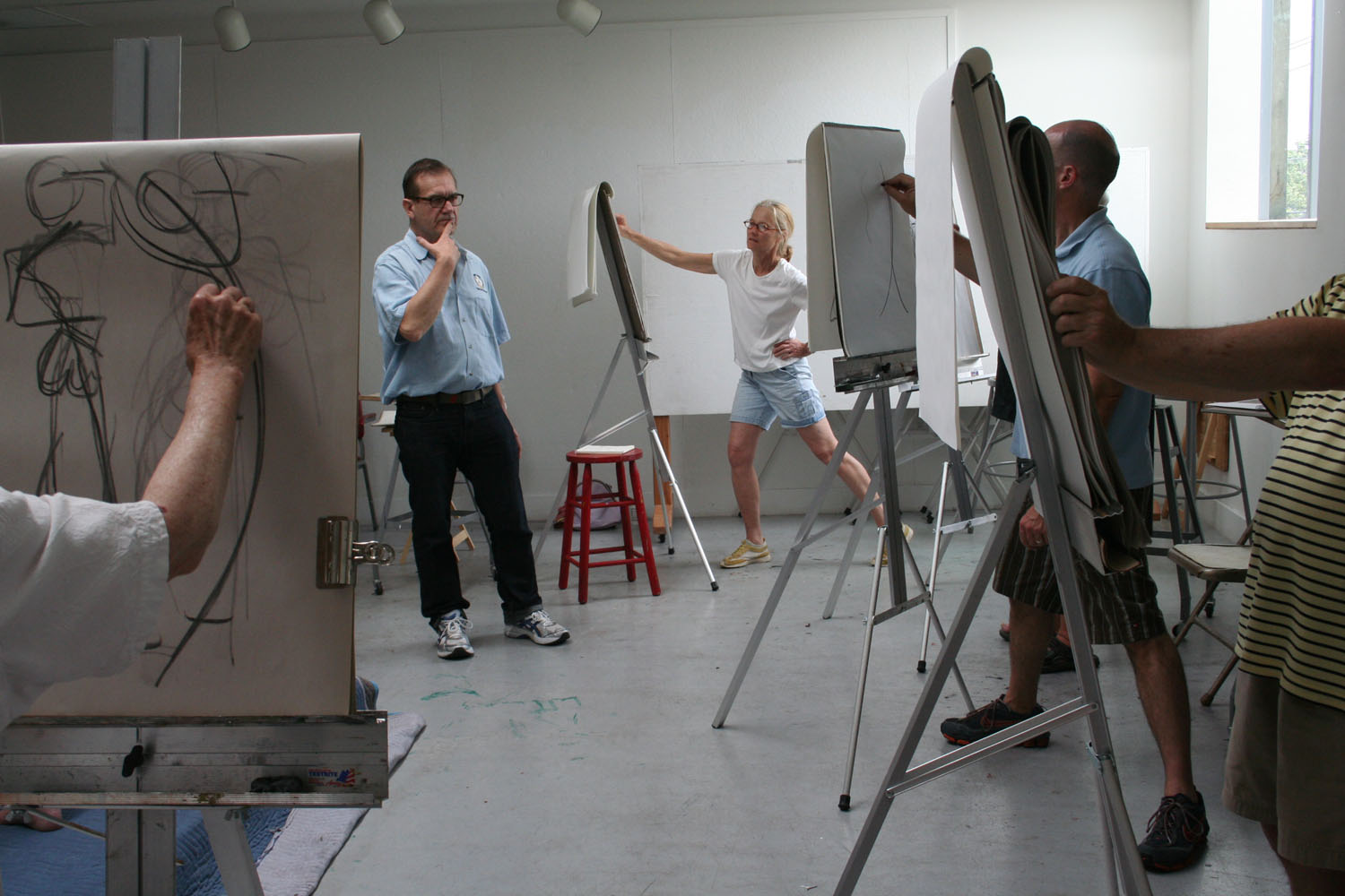 Male Life Drawing Models