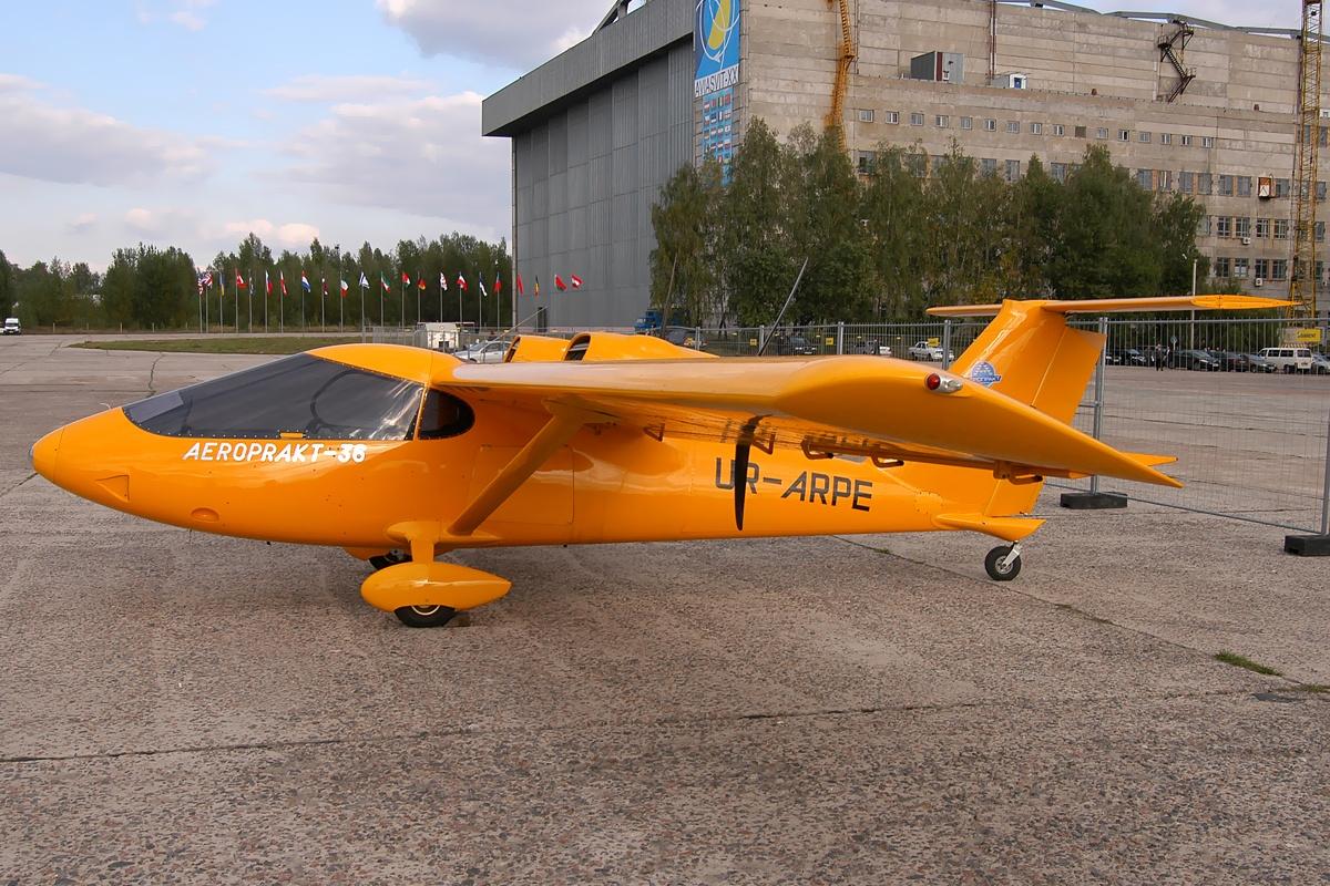 Aeroprakt A-36 Vulcan - Wikipedia