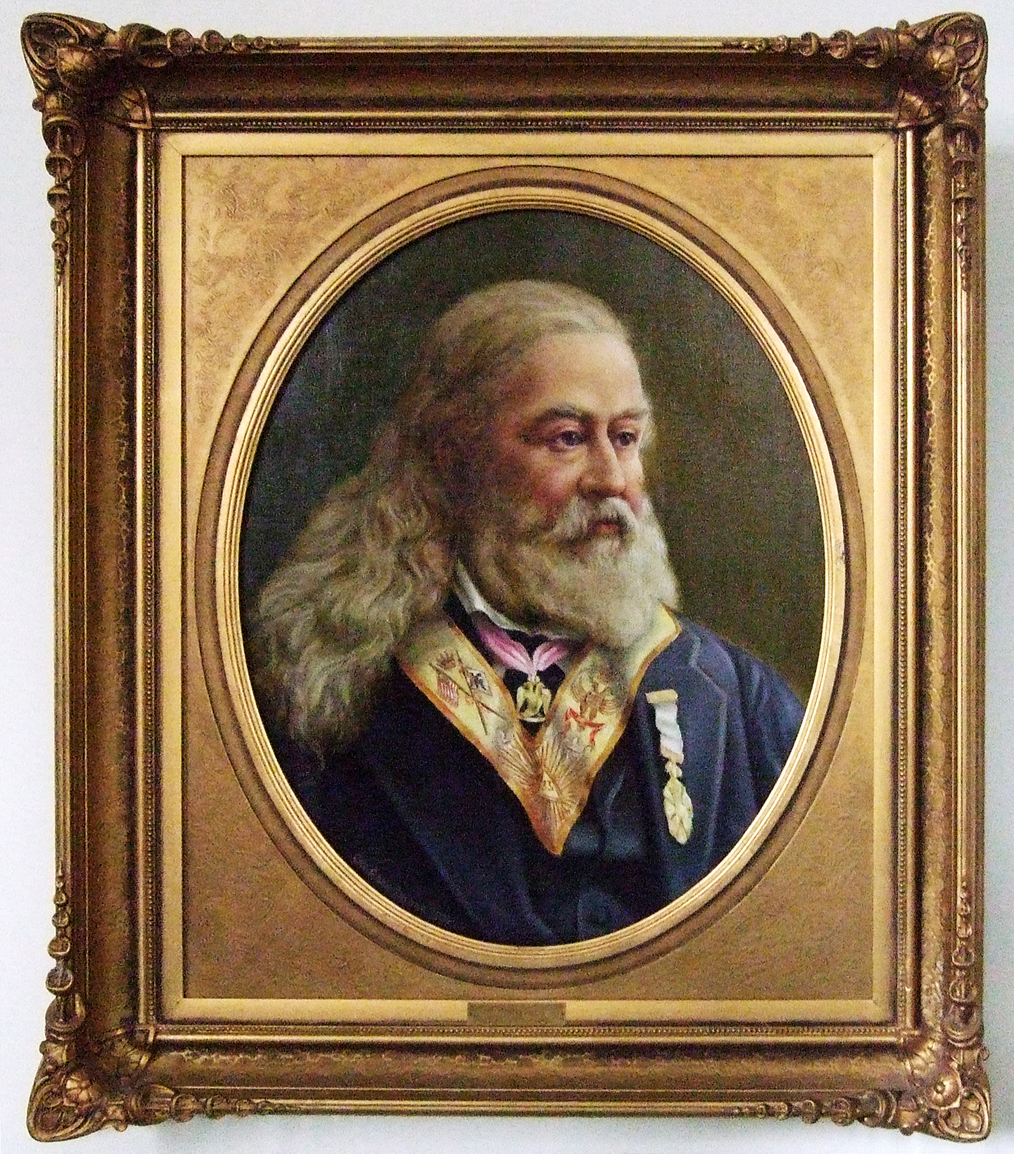 English: Portrait of Albert Pike.