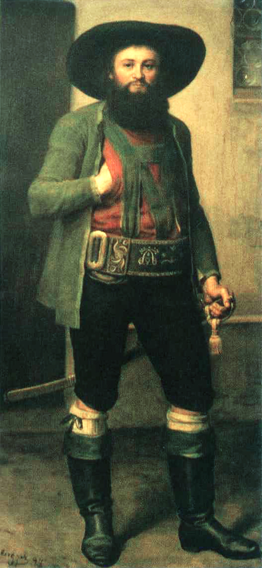 Posthumous painting of Andreas Hofer