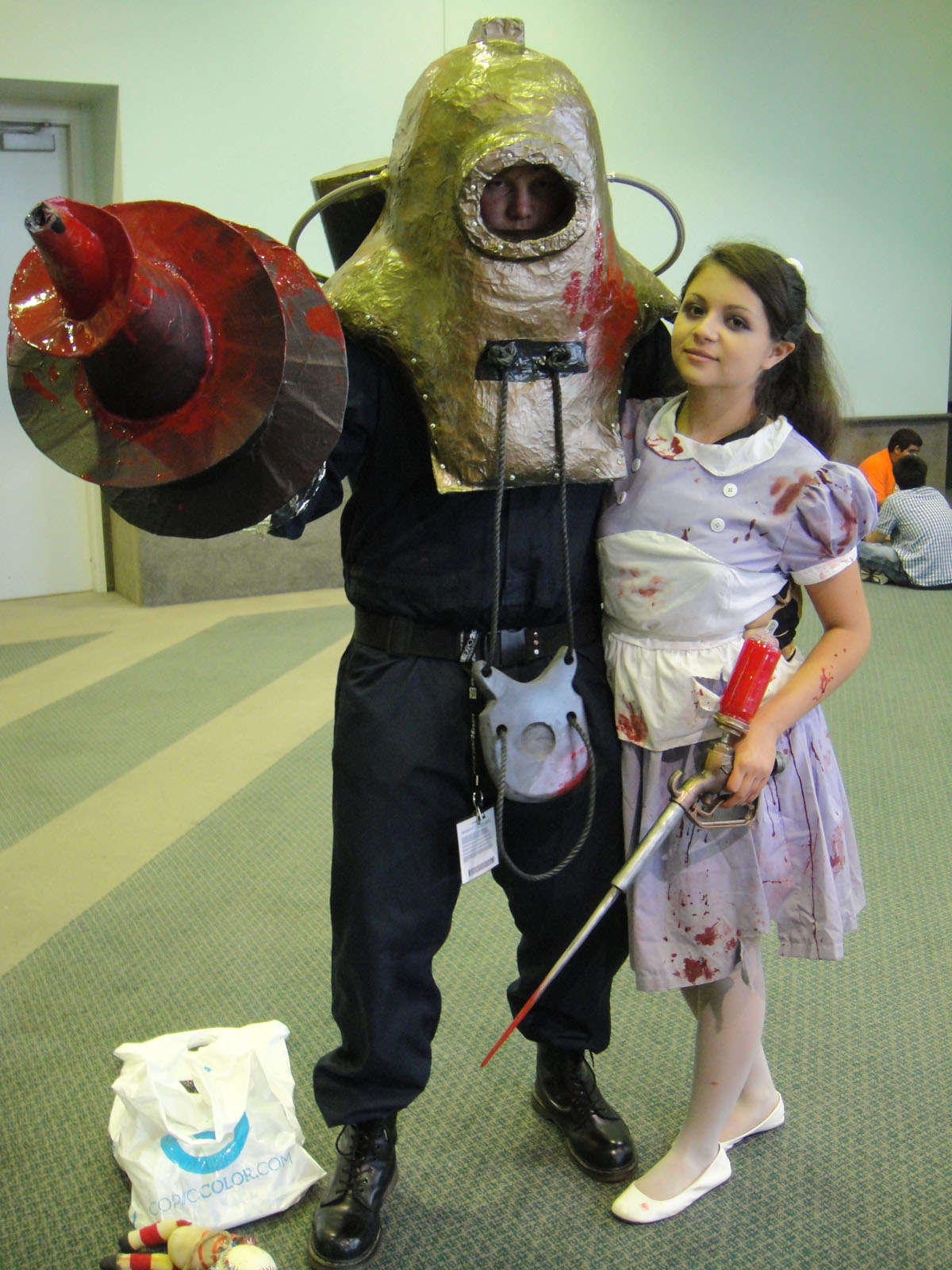File Anime Expo 2011 Big Daddy And Little Sister From