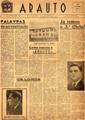 Arauto, jornal académico, nº 1, Outubro de 1957, capa.jpg