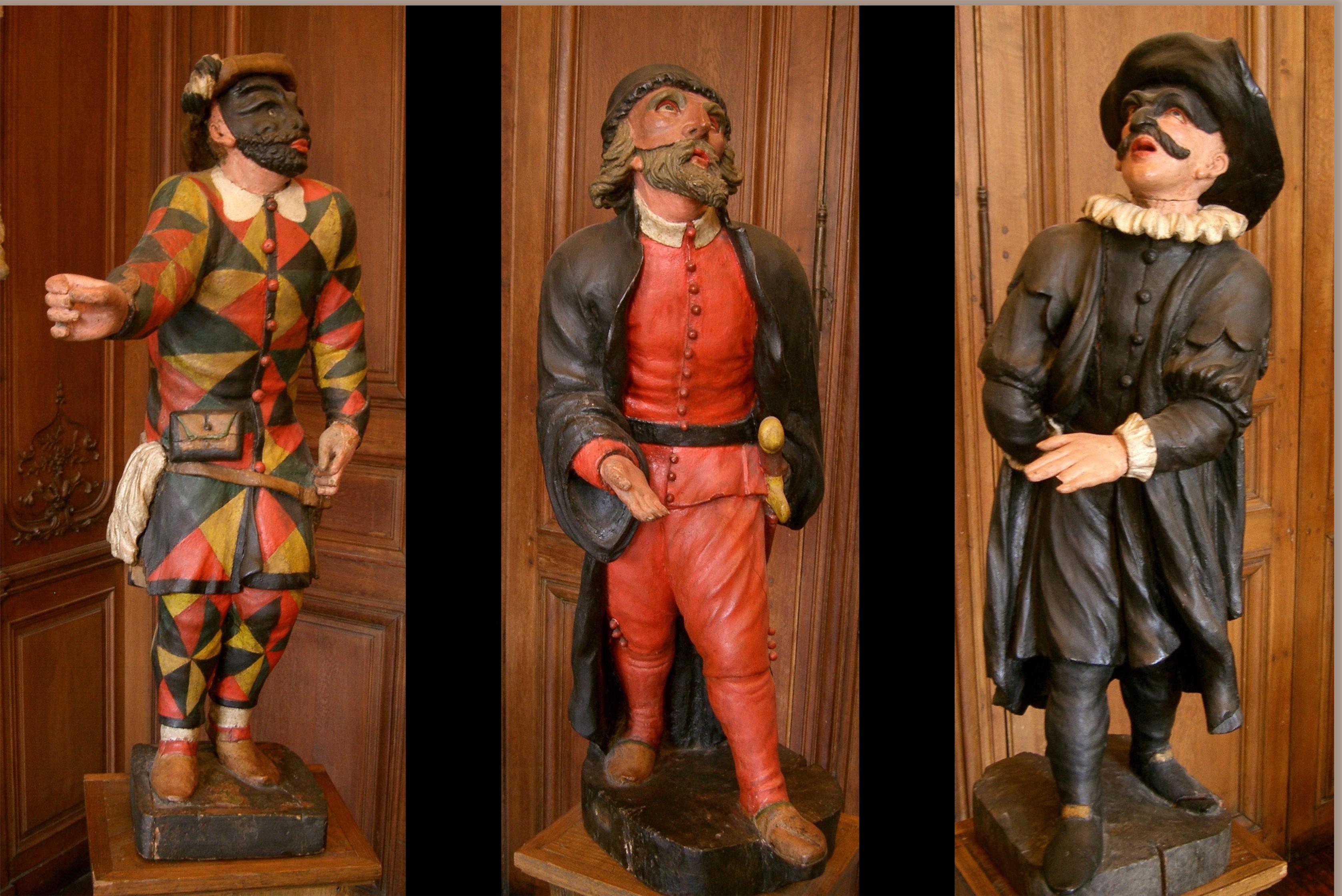 Extraordinaire File:Arlequin - Pantalone - Il Dottore -commedia dell'arte.JPG CK-79