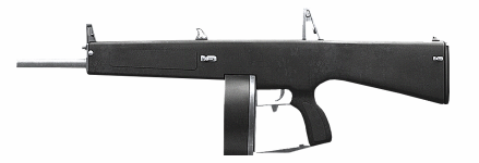 The 10 mm pistol Atchisson_AA-12_Sideview