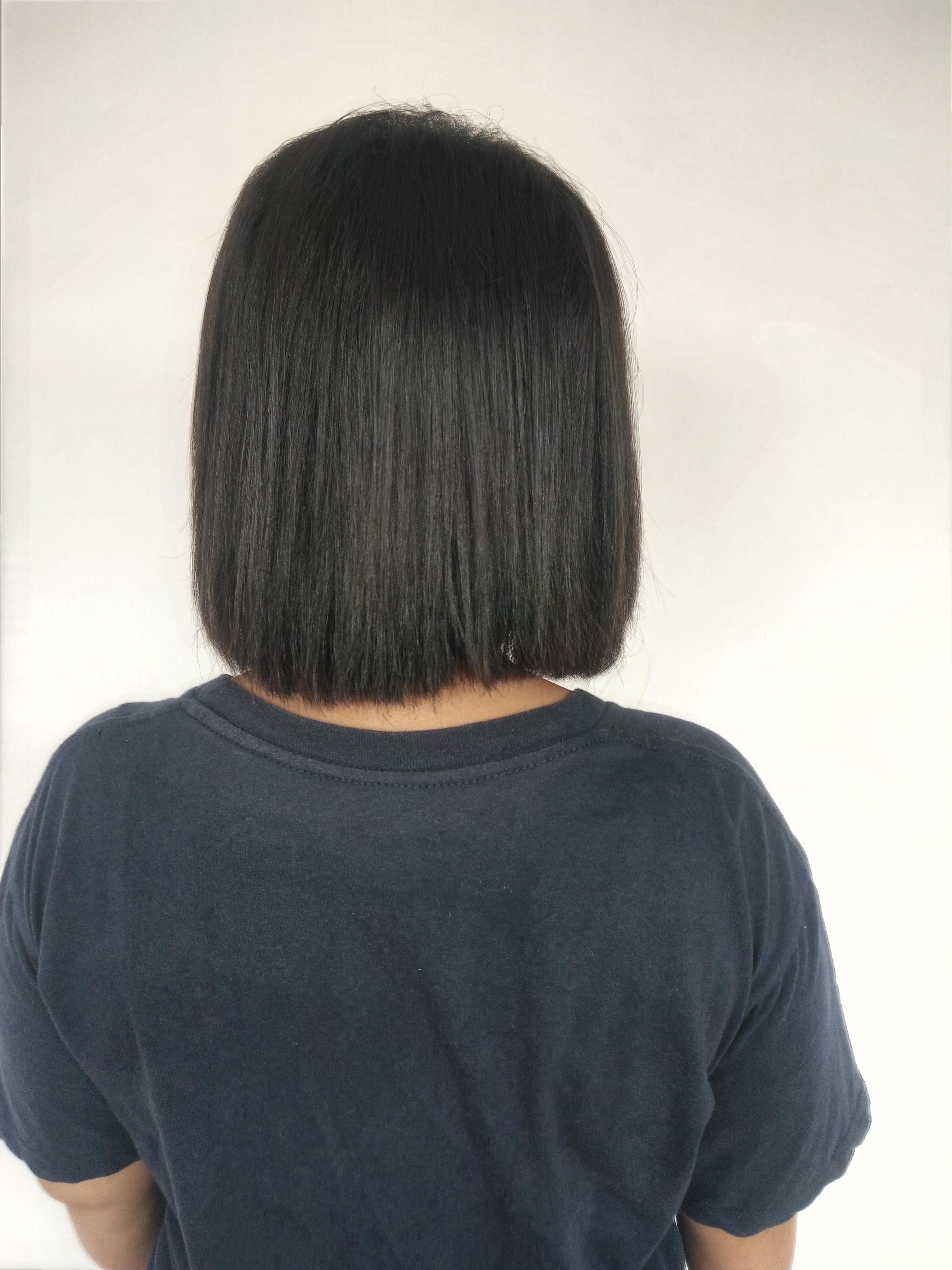 File Back View Of Woman With Short Black Hair 1 Jpg Wikimedia Commons
