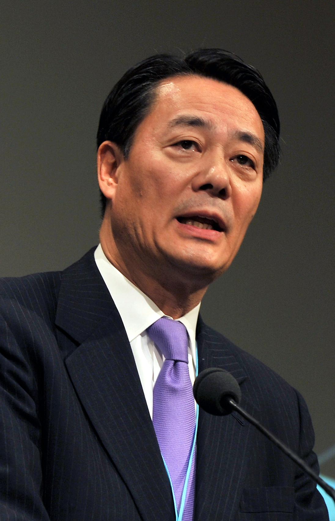 海江田万里 - Wikipedia