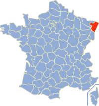 Communes of the Bas-Rhin department Wikimedia list article
