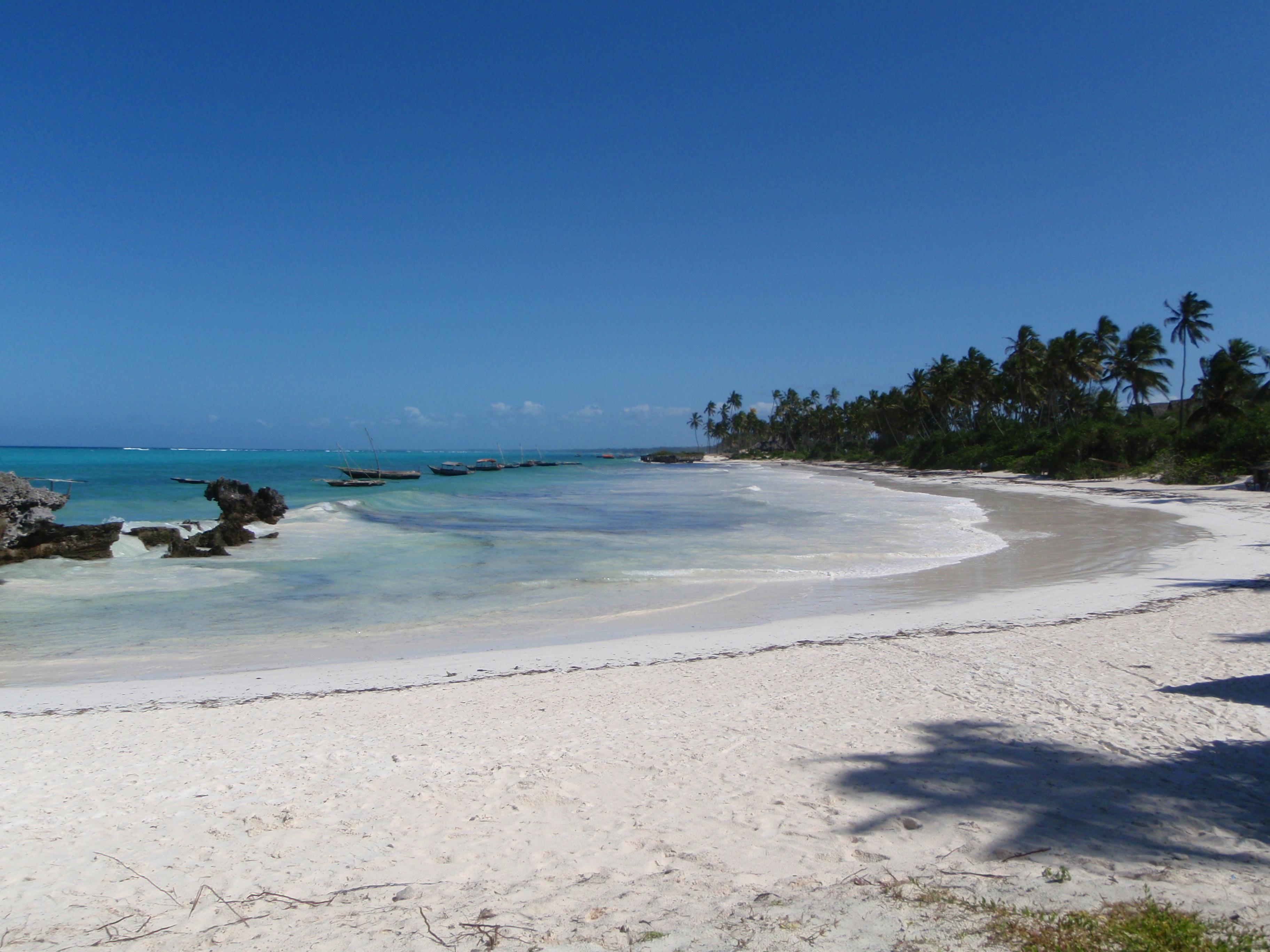File Beach At Matemwe Jpg Wikimedia Commons