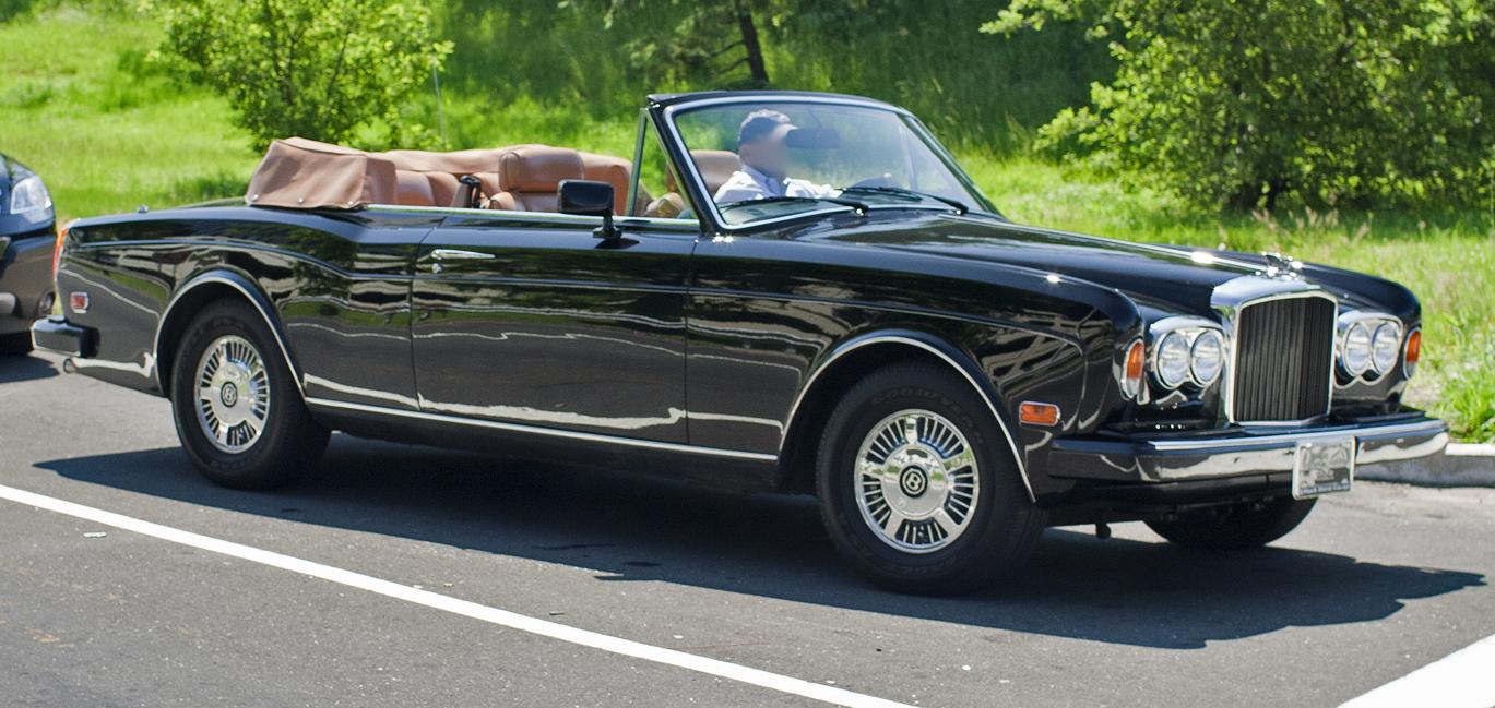 File Bentley Continental In Black On Brown Jpg Wikimedia