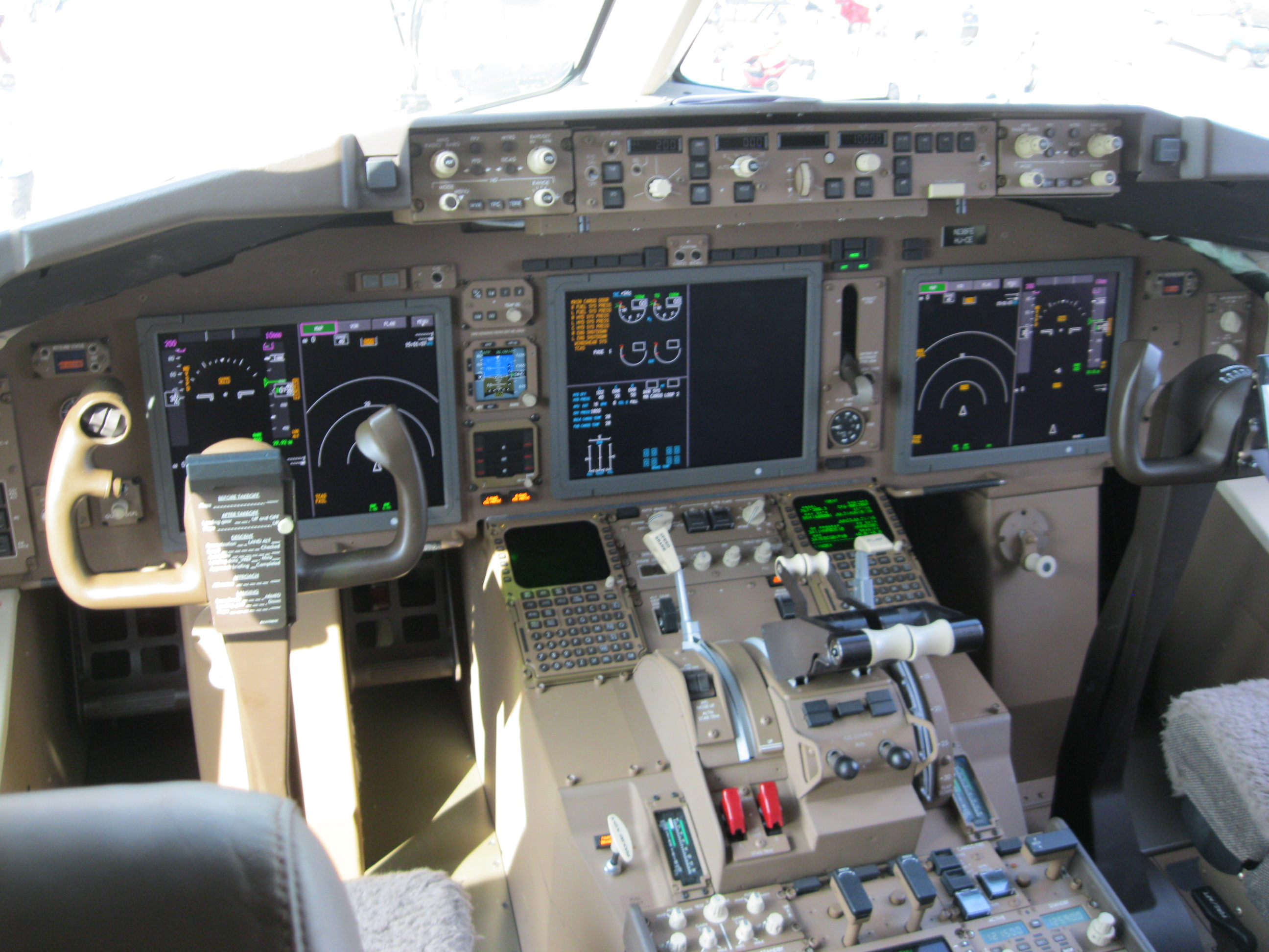 boeing 777 cockpit layout pdf