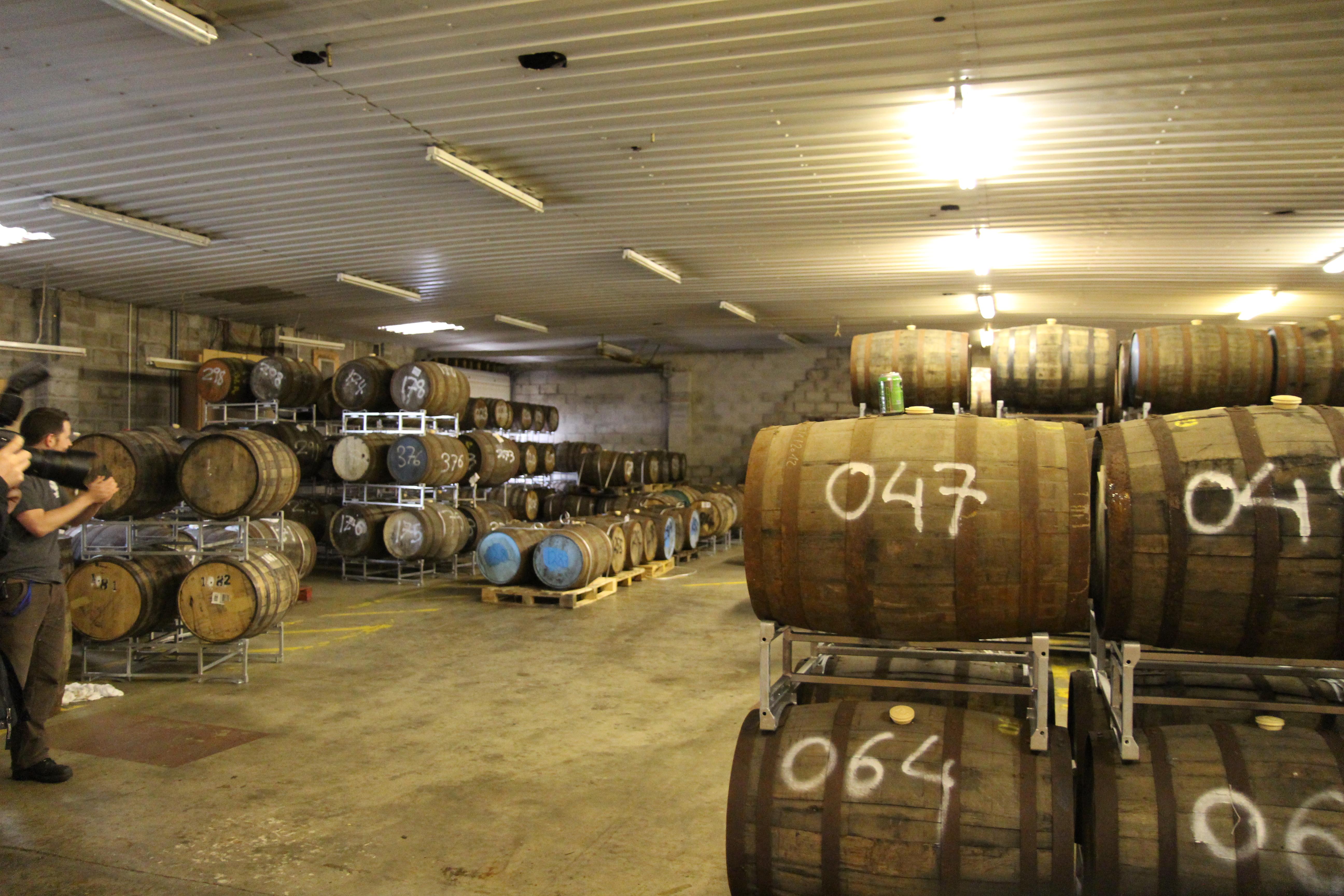 Brewdog Brewery interior - kegs.jpg