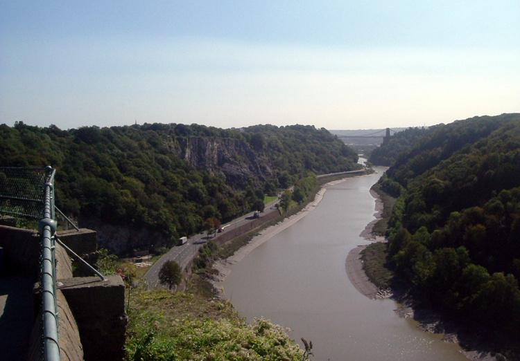 Bristol, Avon Gorge from Clifton Down