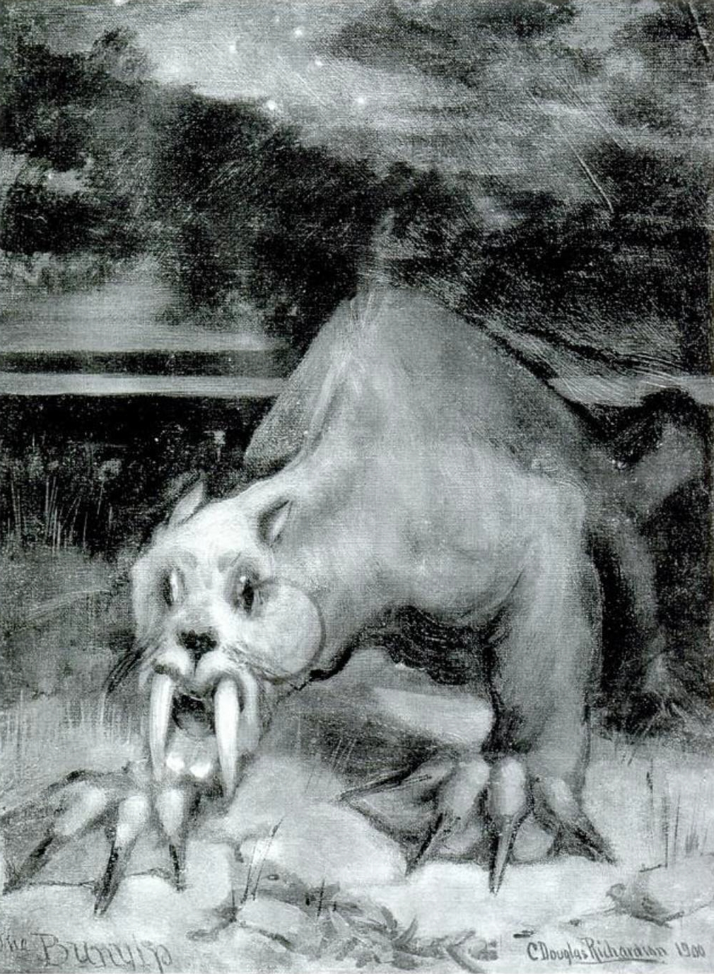 An image of the bunyip
