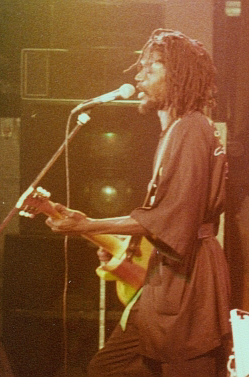English: Peter Tosh live in Cardiff Peter Tosh...