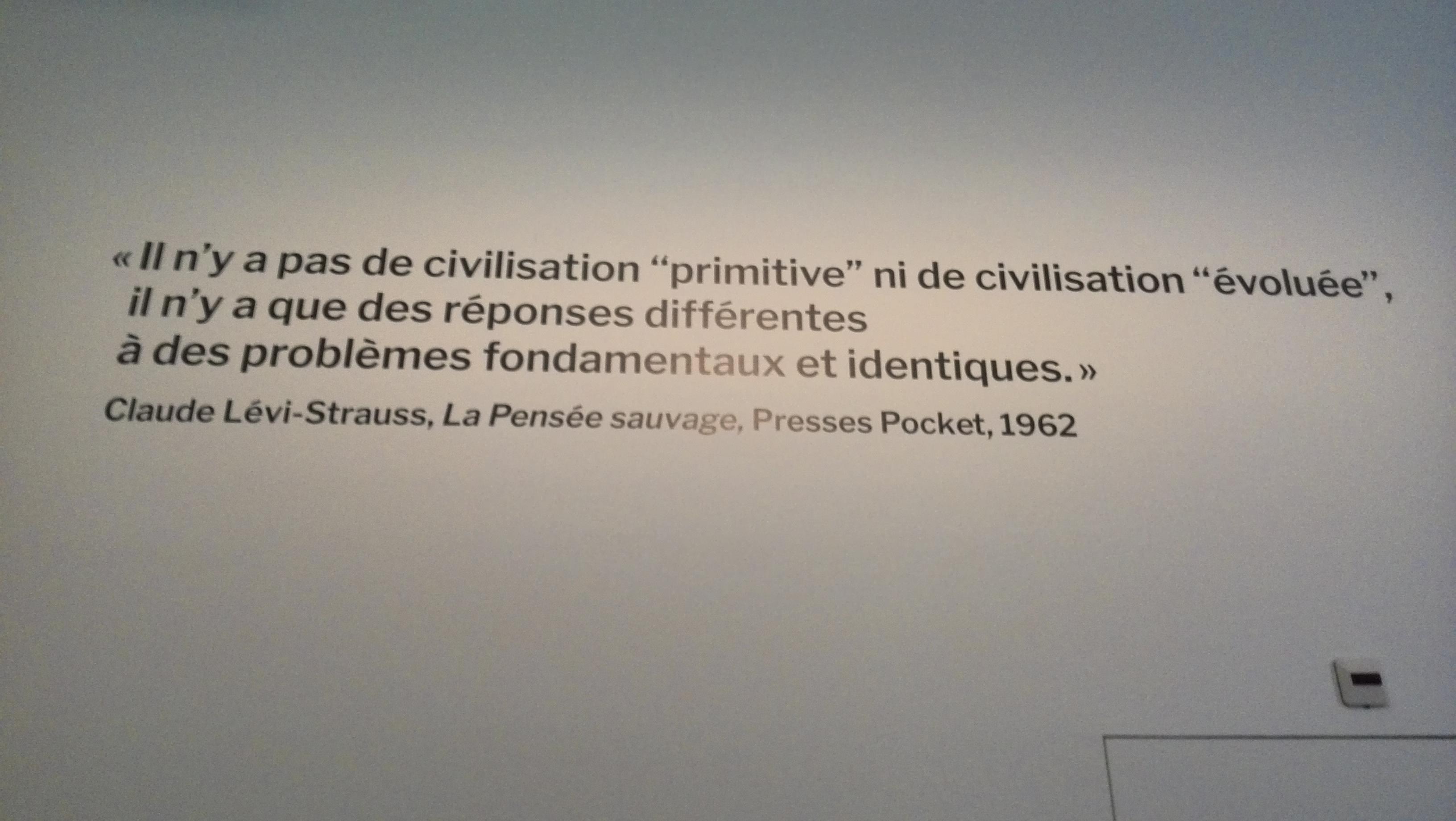 File Cls Citation La Pensée Sauvage Musée De L Homme