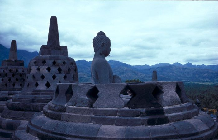 Wonderful Places In Asia Borobudur Temple Indonesia