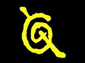 Logotipo de Los Caballeros de la Quema, agrupación que lideró desde 1989 a 2002.