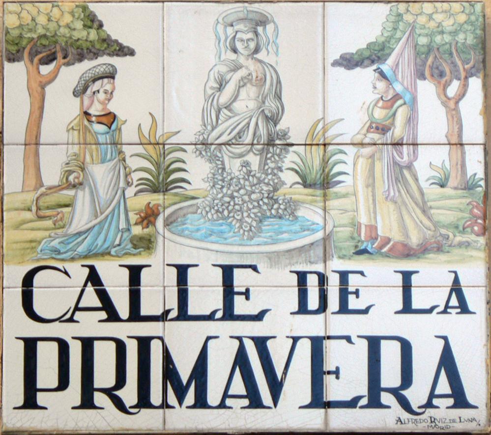 Calle de la primavera wikipedia la enciclopedia libre for Calle prado 8 madrid