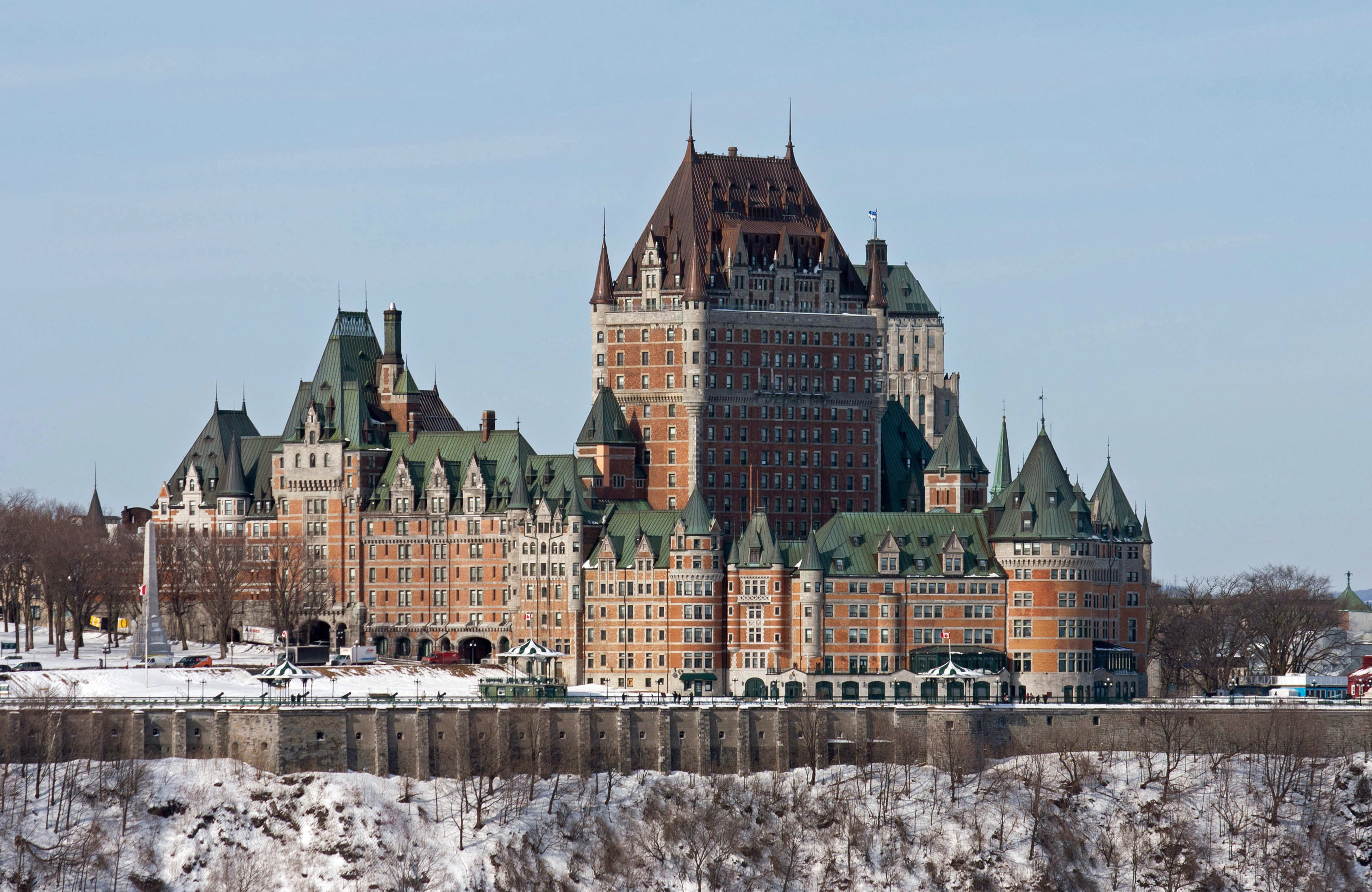 Ch teau frontenac wikiwand for Hotels quebec