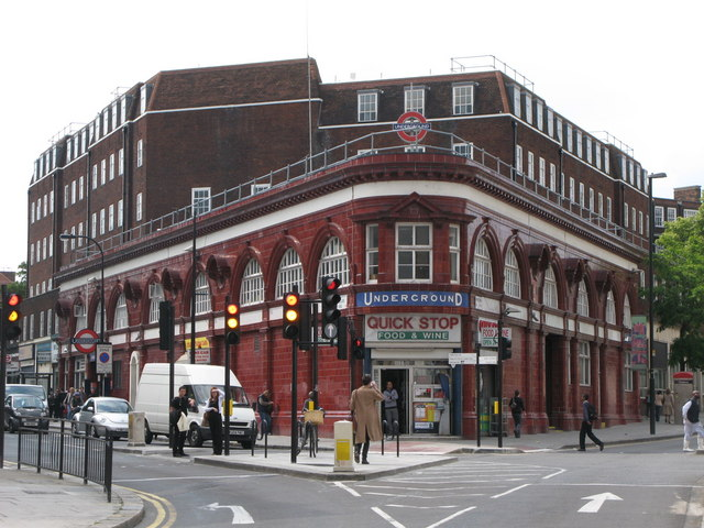 Chalk Farm tube station - geograph.org.uk - 1458515