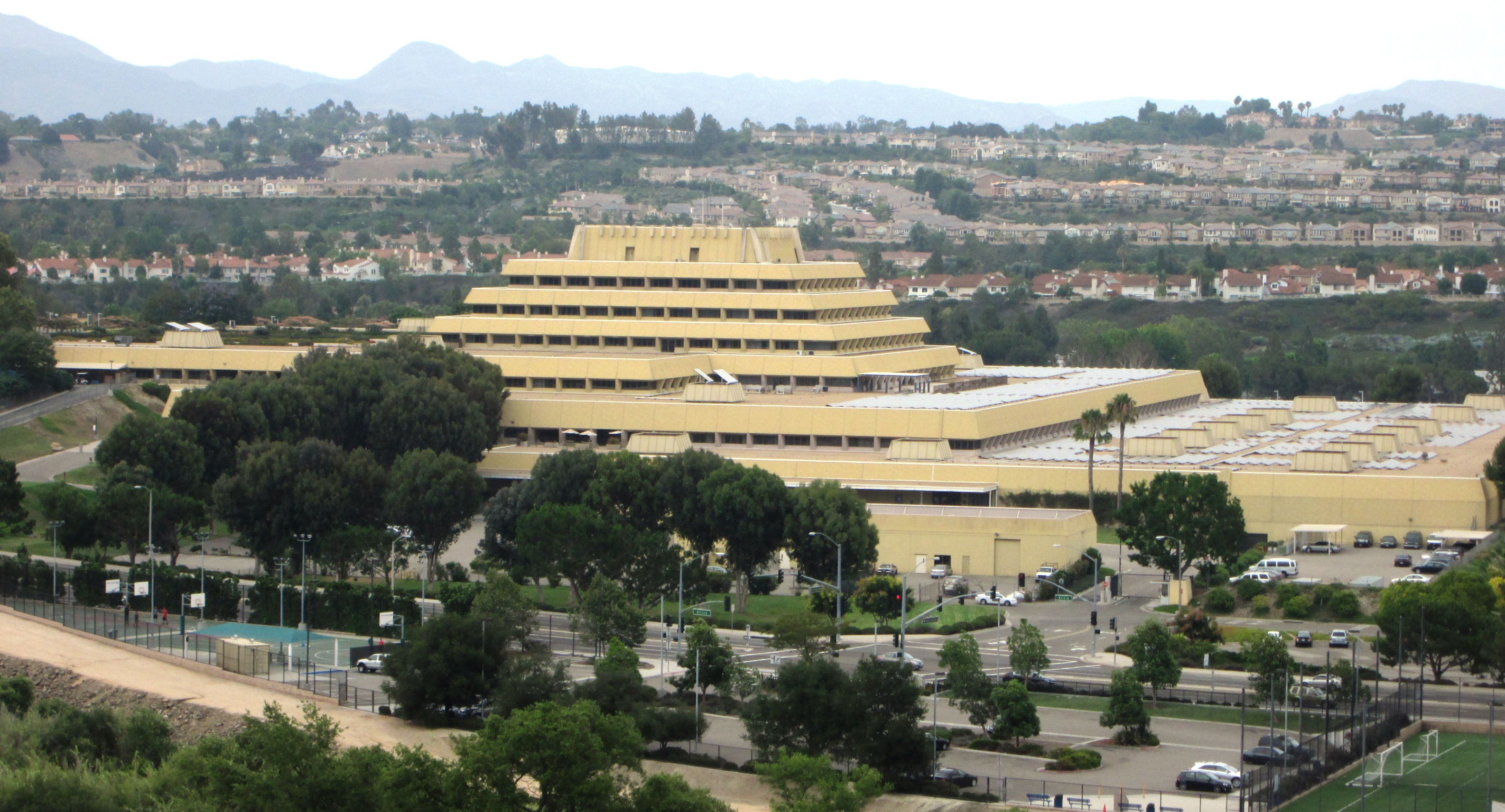 Chet Holifield Federal Building - Laguna Niguel, California  Ziggurat Laguna Niguel