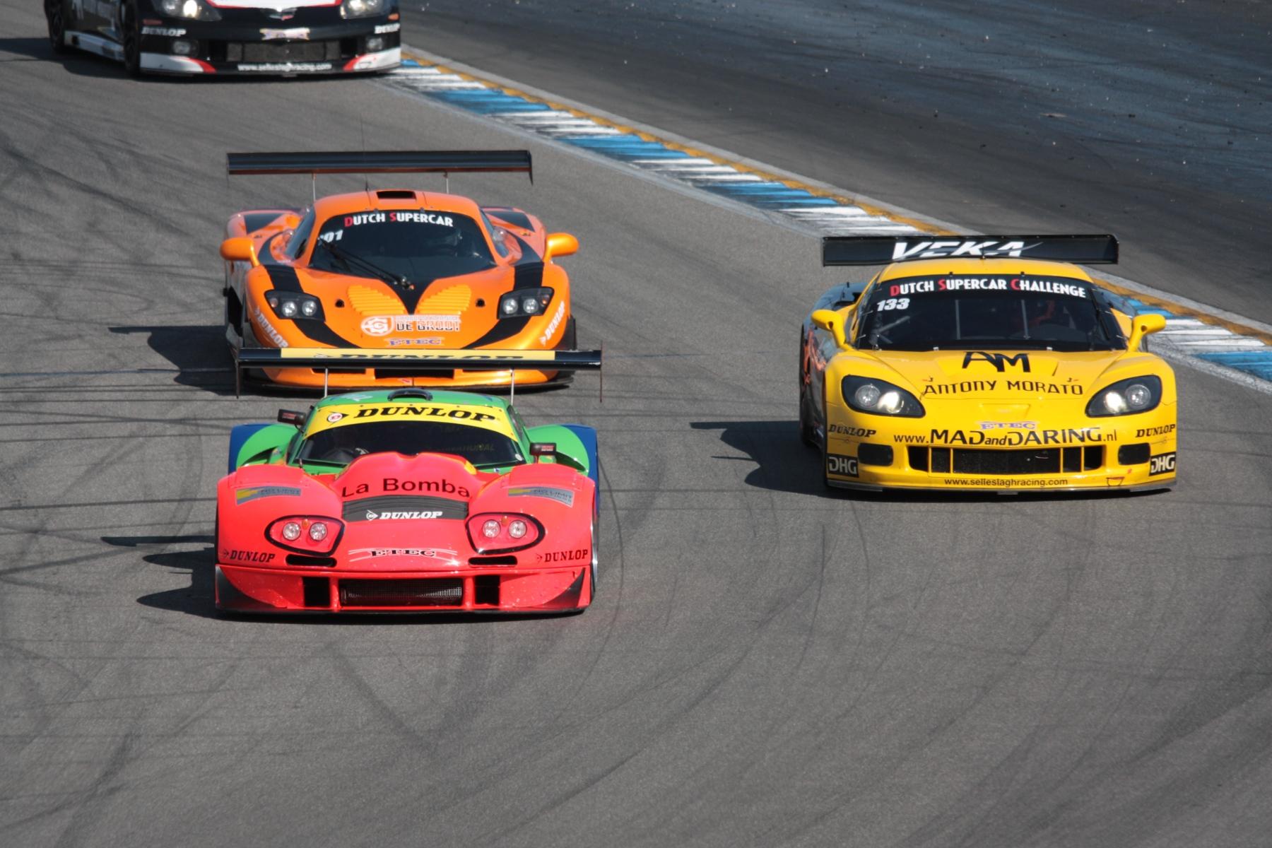 Marcos Mantis Race Car For Sale