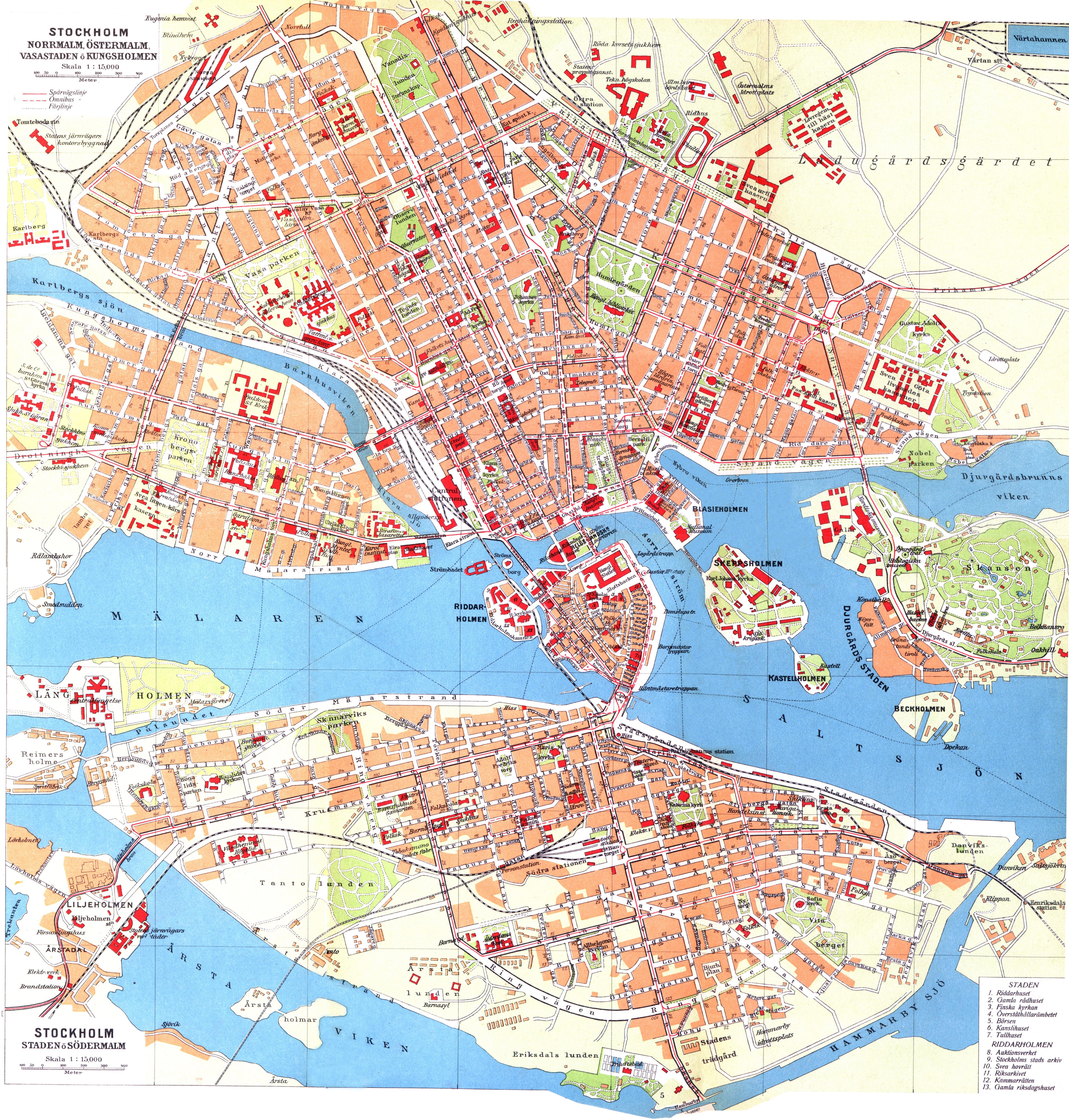 stockholm city karta File:Cohrs atlas över Sverige Stockholm map.   Wikimedia Commons stockholm city karta