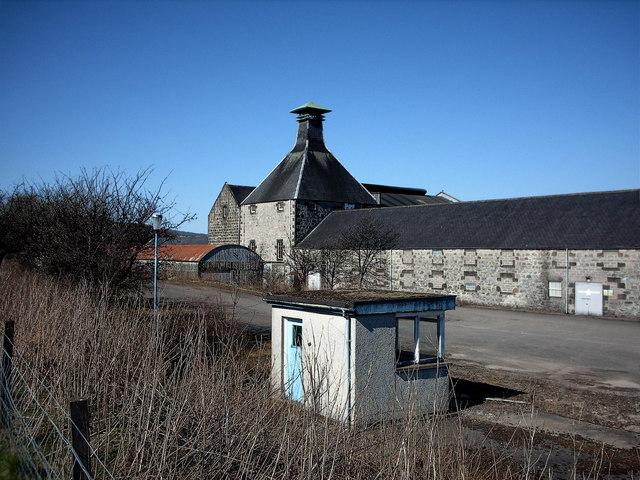 Convalmore Distillery, Dufftown. - geograph.org.uk - 162578