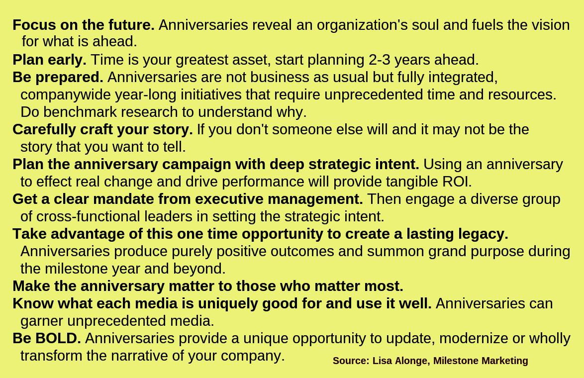 File corporate anniversary meeting strategies text