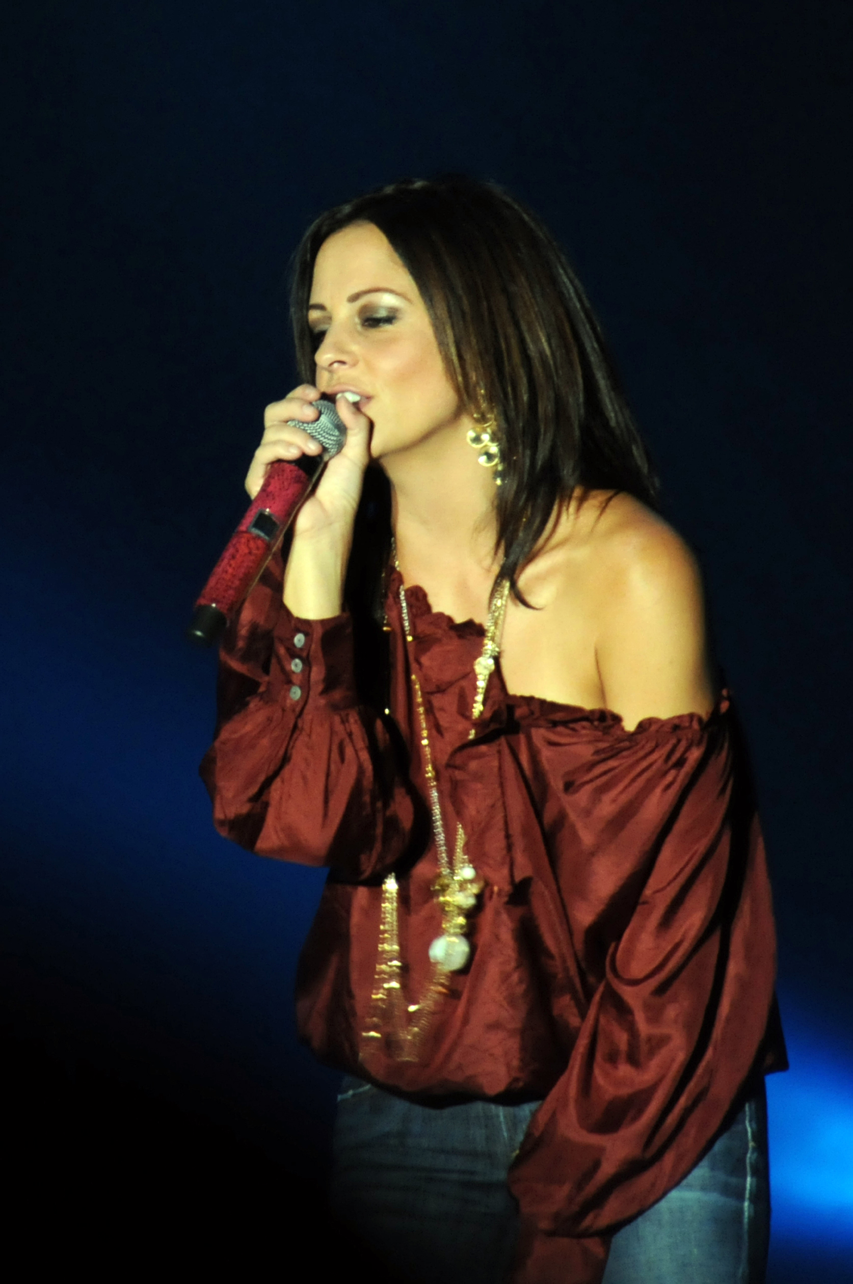 Description Country Singer Sara Evans