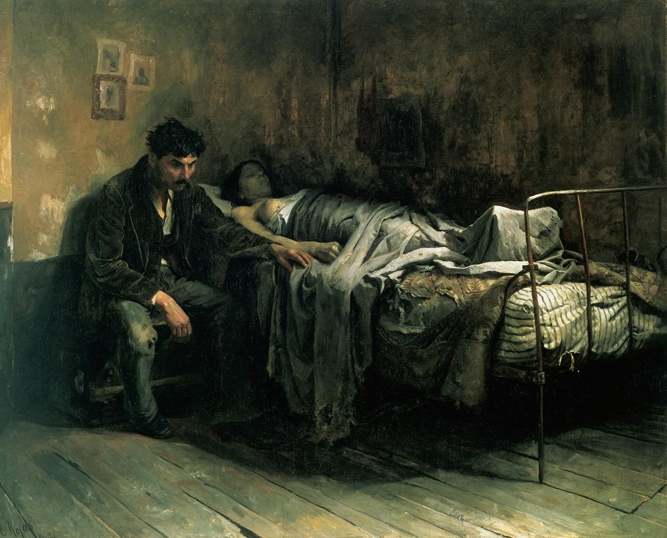 La Miseria di Cristóbal Rojas (1886).