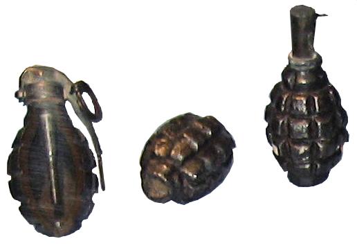 الحرب ال - الحرب العالميه الاولى Defensive_fragmentation_grenade_16_type_WWI