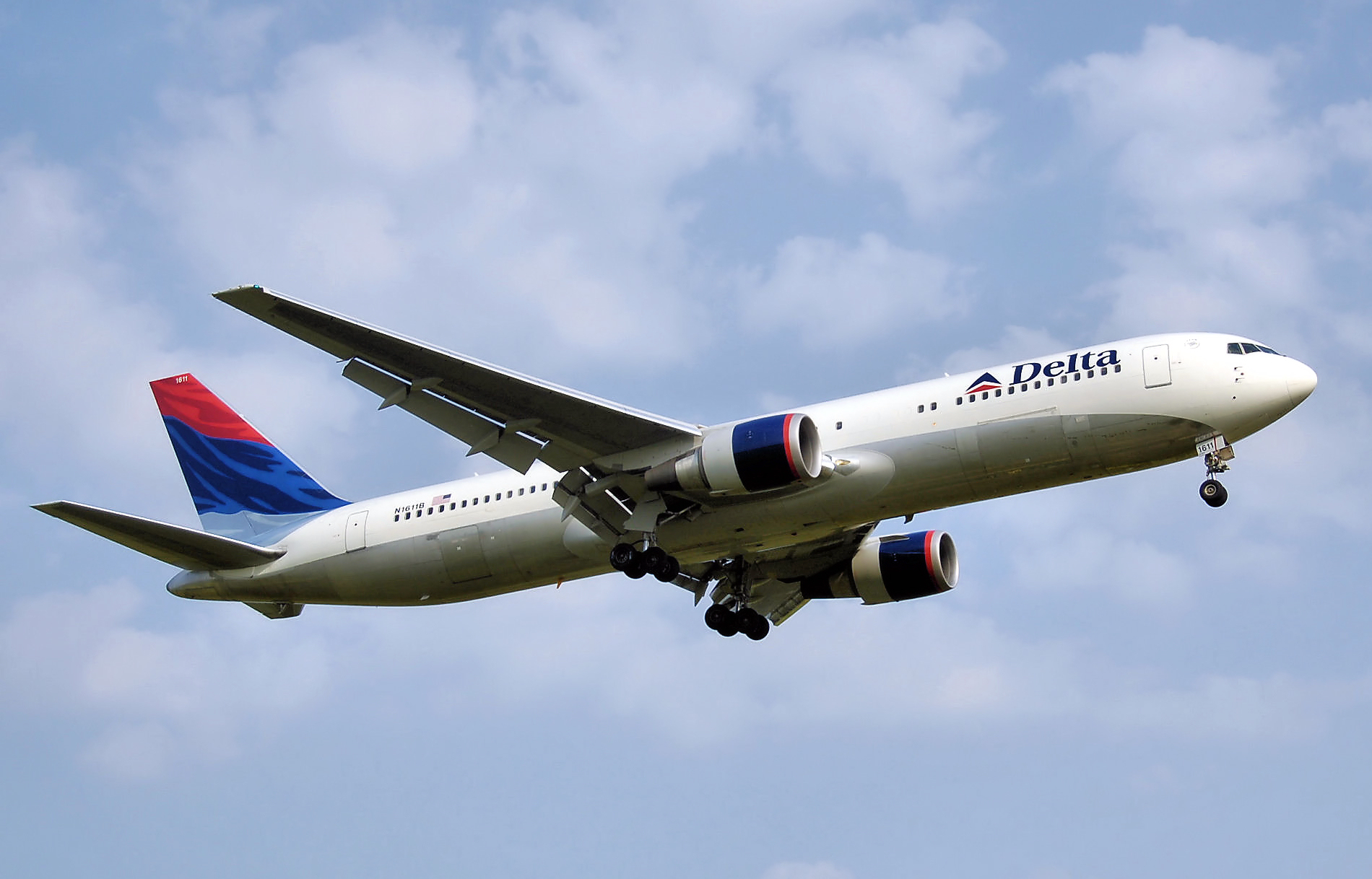 Boeing 767-300er in The Livery