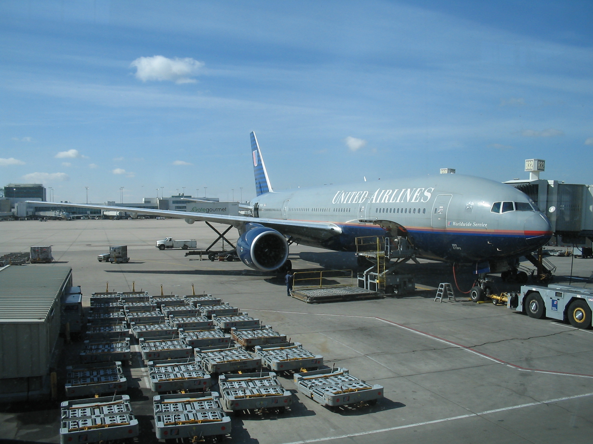 File Denver International Airport United Airlines Boeing