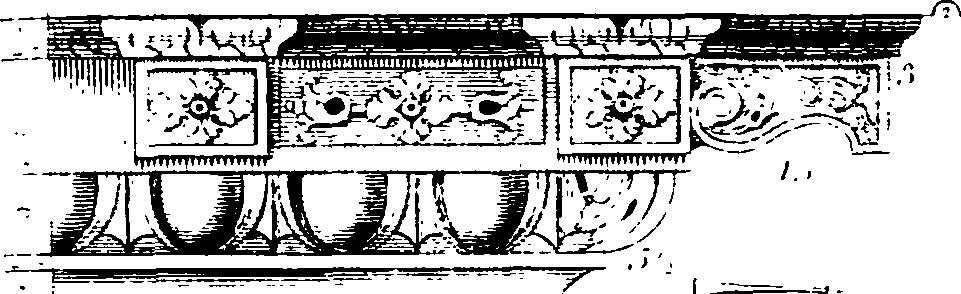 Designs for chimnies- and the proportions they bear to their respective rooms; Containing more than eighty examples of that kind Fleuron T060919-47.png