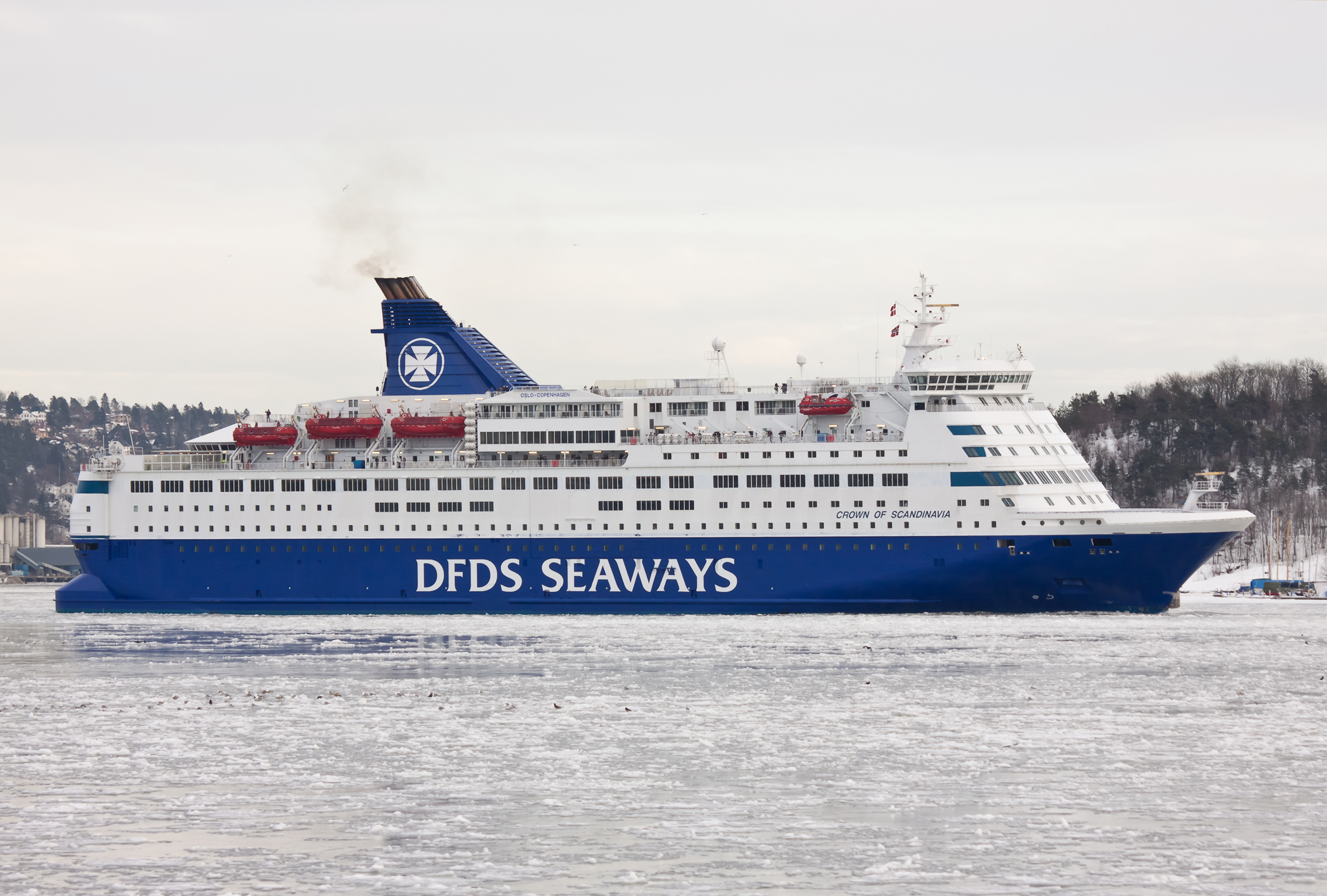 dfds crown seaways