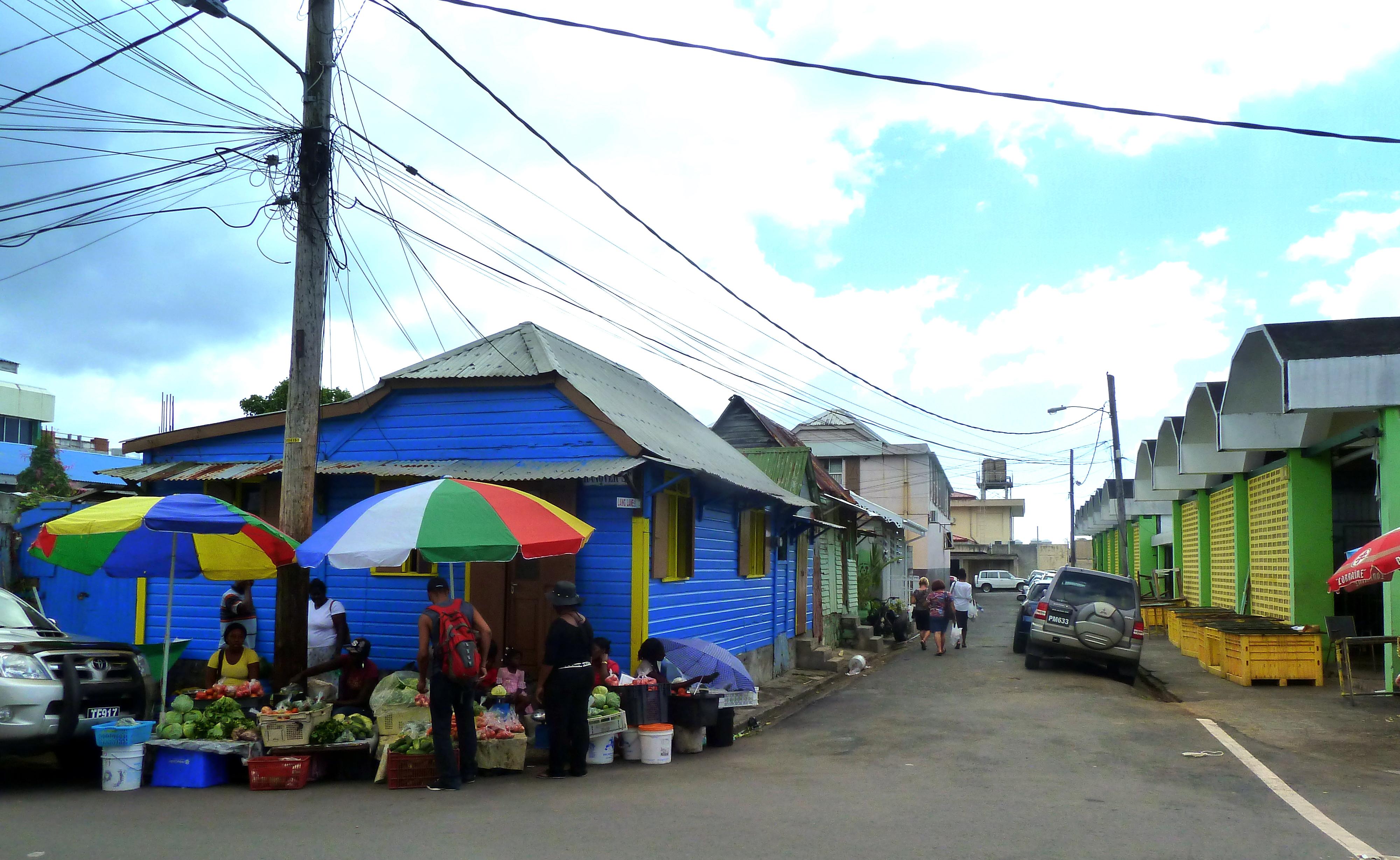 file dominica karibik roseau market hanover street corner