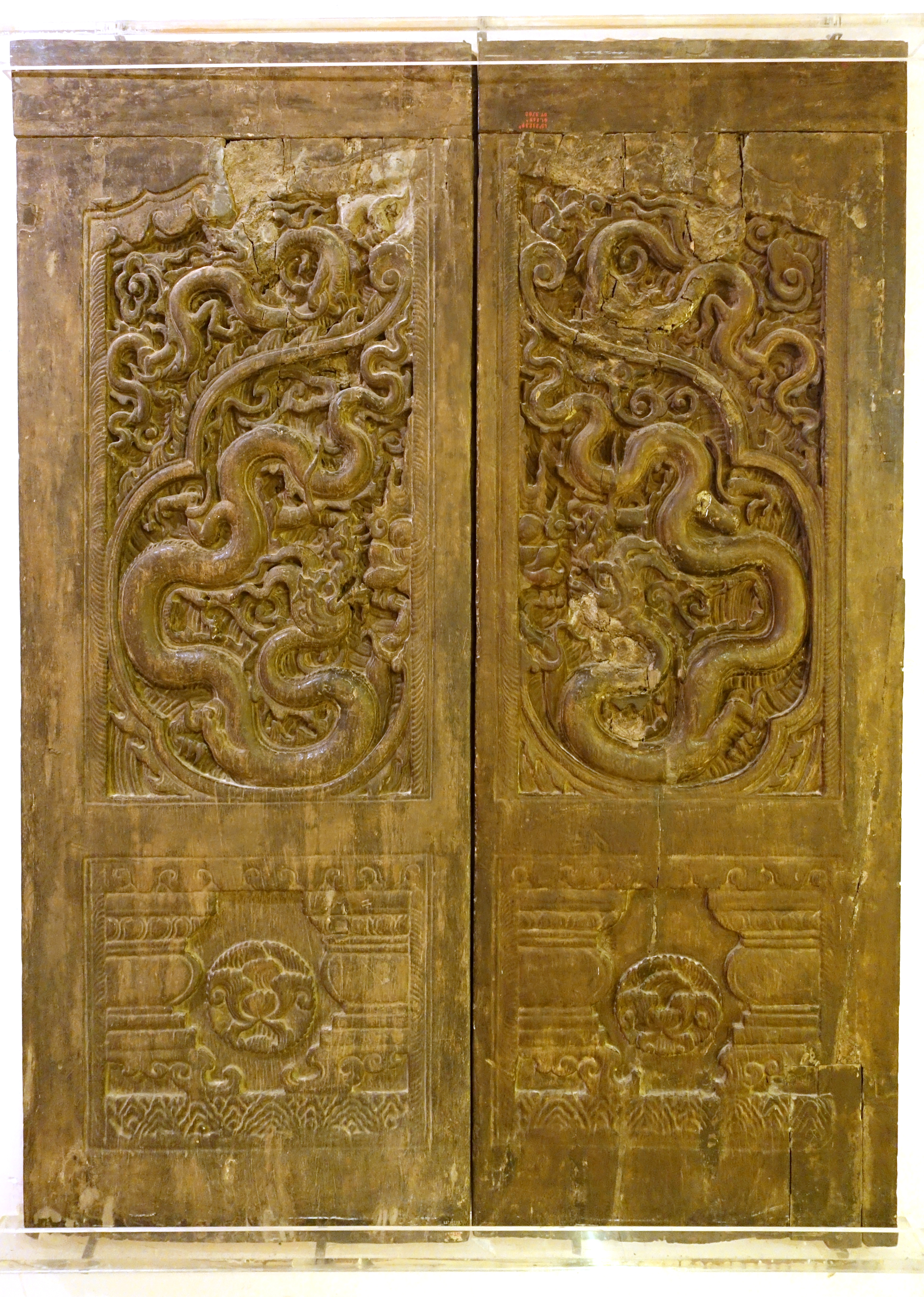 FileDoors Pho Minh pagoda Nam Dinh province Tran dynasty 13th : national doors - pezcame.com